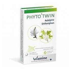 Wamine Phyto'Twin Aubépine-Orthosiphon