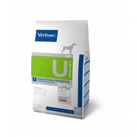 Virbac Nutrition Chien Veterinary HPM U1 Urology Dissolution & Prevention