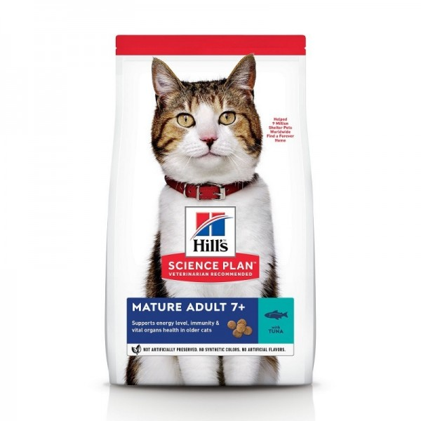 Hill's Pet Nutrition Feline Mature Adult 7+ Thon