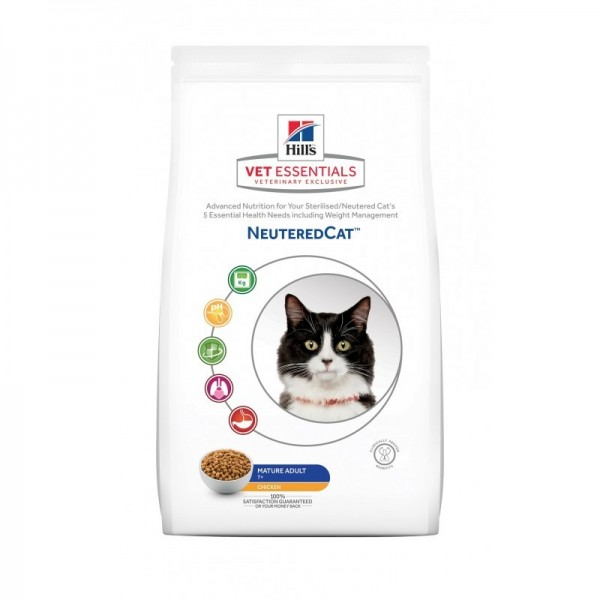 Hill's Pet Nutrition Vetessentials Neutered Cat Mature Poulet