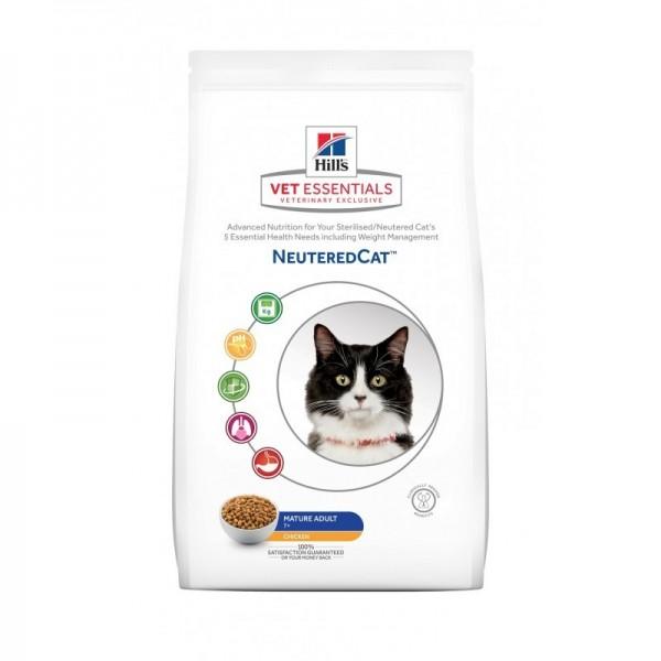 Hill's Pet Nutrition Vetessentials Neuteredcat Mature Poulet