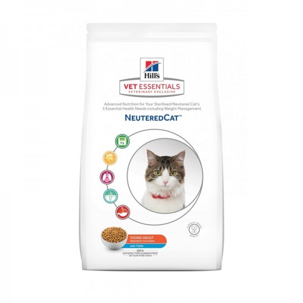 Hill's Pet Nutrition Vetessentials Neuteredcat Young Adult Thon