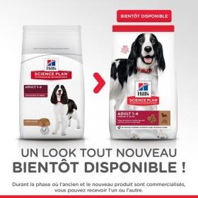 Hill's Pet Nutrition Canine Adult Medium Agneau & Riz