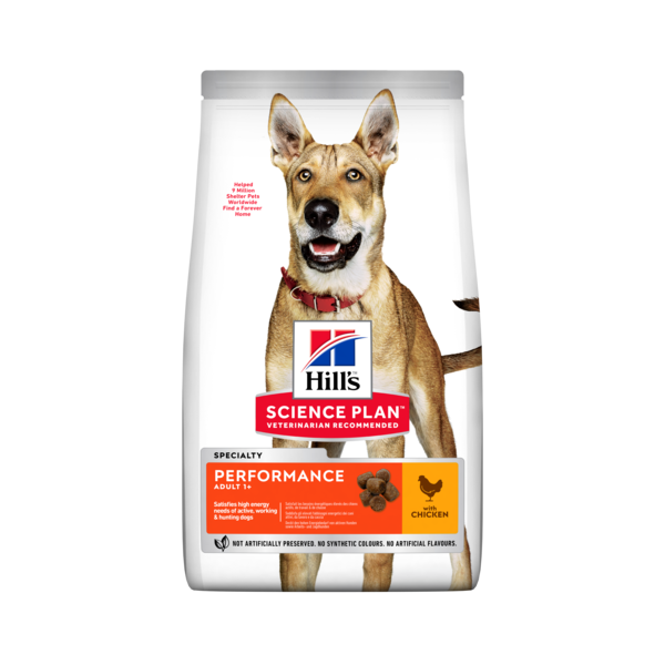 Hill's Pet Nutrition Canine Adult Performance Poulet