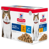 Hill's Pet Nutrition Feline Mature Pack Mixte Sachet repas