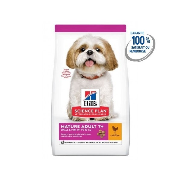 Hill's Pet Nutrition Canine Mature Adult 7+ Small&Mini Poulet