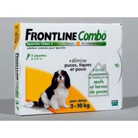 Merial Frontline Combo Chien 2/10 KG